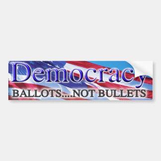 民主主義2013年 バンパーステッカー