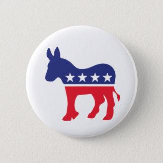 民主党のろばのアメリカ人の政治 5.7CM 丸型バッジ