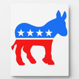 民主党のろば フォトプラーク