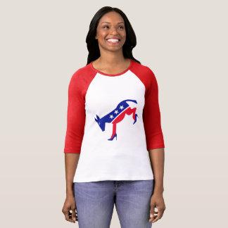 民主党の女性 Tシャツ