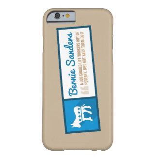 民主党員のろばのベルニーの研摩機の電話箱 BARELY THERE iPhone 6 ケース