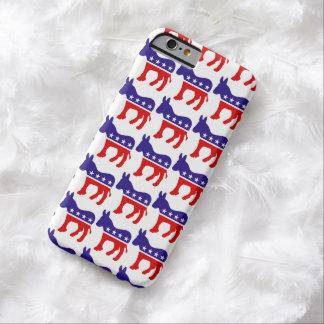 民主党員のろばパターン BARELY THERE iPhone 6 ケース