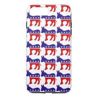民主党員のろばパターン iPhone 8 PLUS/7 PLUSケース