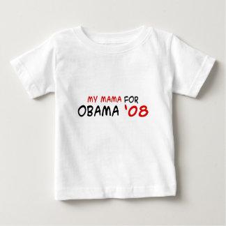 民主党員のギア。 バラック・オバマの服装の子供のTシャツ ベビーTシャツ