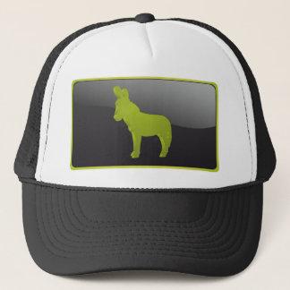 民主党員のパーティーのろばの帽子(緑) キャップ