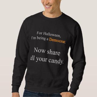 民主党員の衣裳の暗闇のワイシャツ スウェットシャツ
