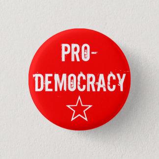 """""""民主化の""""ボタン 3.2CM 丸型バッジ"""