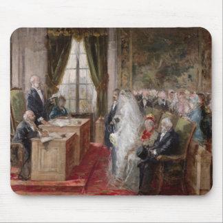 民事婚のための勉強 マウスパッド
