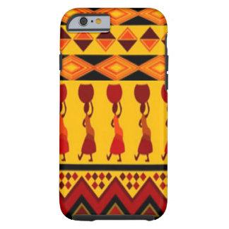 民族のアフリカのりんごのiphoneの場合のデザインのsmartphone ケース