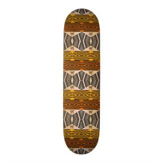 民族のアフリカの種族パターン 18.1CM オールドスクールスケートボードデッキ