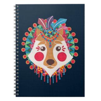 民族のオオカミ ノートブック