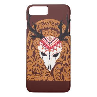 民族のシカの頭部 iPhone 8 PLUS/7 PLUSケース