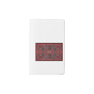 民族のノート ポケットMoleskineノートブック
