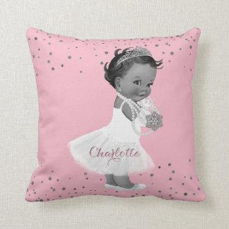 民族のバレリーナのプリンセスの子供部屋のピンクの女の赤ちゃん クッション