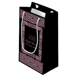 民族の名前入りなブライダルシャワーのギフトバッグ3 スモールペーパーバッグ