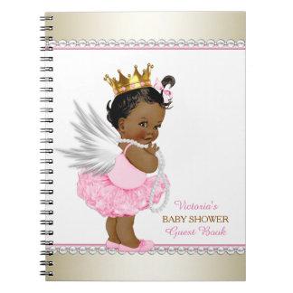 民族の天使の女の子のベビーシャワーの来客名簿 ノートブック