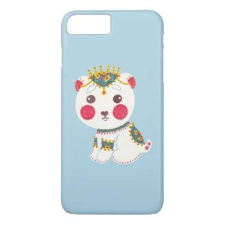 民族の白くま iPhone 8 PLUS/7 PLUSケース