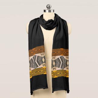 民族の種族のアフリカパターン スカーフ