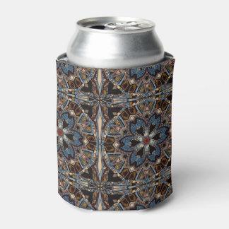 民族の種族のファッションの抽象芸術パターン 缶クーラー