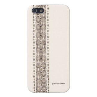 民族の装飾 iPhone 5 ケース