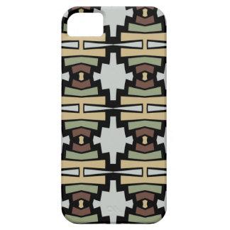 民族のstylの継ぎ目が無く抽象的で幾何学的なパターン iPhone SE/5/5s ケース