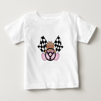 民族Lilの競争の勝者の女の赤ちゃん- ベビーTシャツ