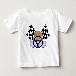 民族Lilの競争の勝者の男の子 ベビーTシャツ