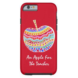 民芸のAppleの赤い先生のiPhone6ケース ケース