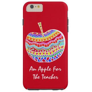 民芸のAppleの赤い先生のiPhone 6のプラスの場合 Tough iPhone 6 Plus ケース