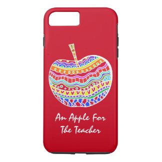 民芸のAppleの赤い先生のiPhone 7のプラスの場合 iPhone 8 Plus/7 Plusケース
