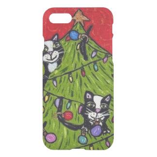 民芸猫のクリスマスツリー iPhone 8/7 ケース
