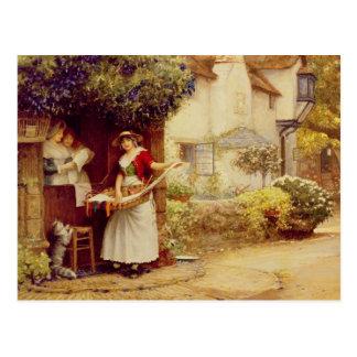 民謡Seller 1902年(油船上に) ポストカード