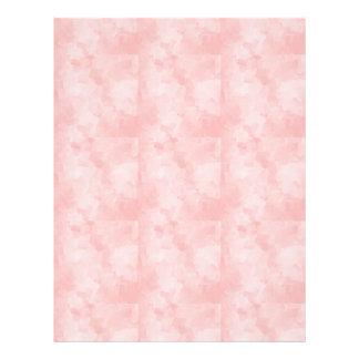 気どって完全なピンクの立方体によって層にされる質の背部 レターヘッド