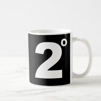 気候変動のマグの2度 コーヒーマグカップ