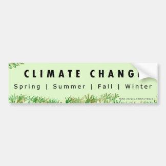 気候変動の悪ふざけ バンパーステッカー