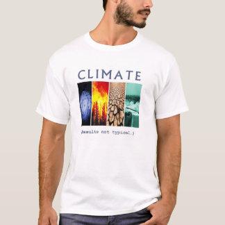 気候: 典型的ではない結果(代理の背部) Tシャツ