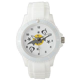 気味悪いこうもり 腕時計
