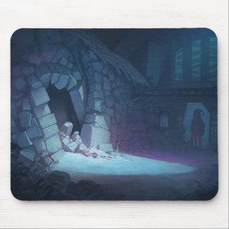 気味悪いクリスマスのマウスパッド マウスパッド