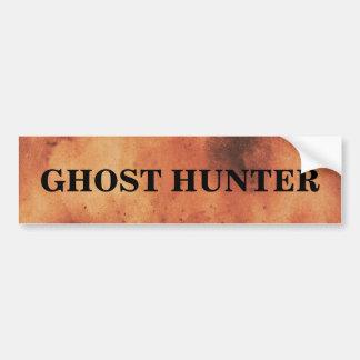 気味悪い幽霊のハンター バンパーステッカー