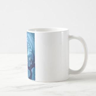 気味悪い木のフクロウ コーヒーマグカップ