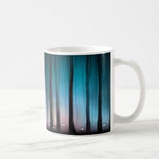 気味悪い森林モンスターの基本的な白いマグ コーヒーマグカップ