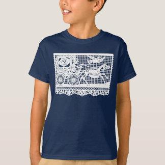 気味悪い骨組芸術 Tシャツ