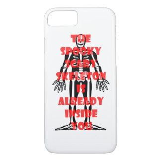 気味悪く恐い骨組はあなたの中に既にあります iPhone 8/7ケース