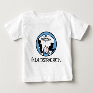 気晴らしロゴ、私は気晴らしです ベビーTシャツ