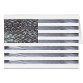 気泡緩衝材およびガムテープの旗 カード