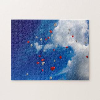 気球が付いているオープンスカイ ジグソーパズル