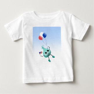 気球との7月4日ののぞき見 ベビーTシャツ