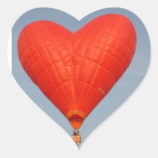 気球のハート ハートシール