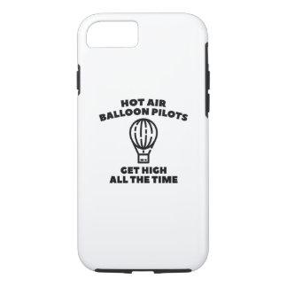 気球のパイロット iPhone 8/7ケース