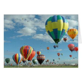 気球のフェスタアルバカーキ カード